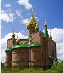 СВЯТО-ВОСКРЕСЕНСКИЙ СОБОР — г. Калачинск, Омская обл.